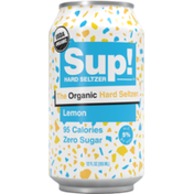 Sup! Organic Lemon Hard Seltzer