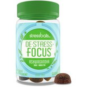 Stressballs , De-Stress + *, With Ashwagandha For Stress Relief*, Sage &