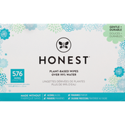 Honest Tea Wipes, Plant-Based, 8 Pack