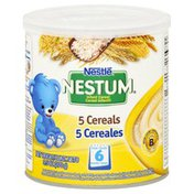 Nestle Infant Cereal, 5 Cereals, from 6 Months