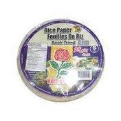 Rose 16cm Rice Paper