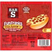 Bar-S Fun Franks Pizza Flavor Franks