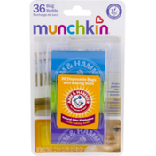 Munchkin Arm & Hammer Disposable Bags with Baking Soda Lavender - 36 CT