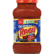 Ragu Pasta Sauce, Smooth, Original Flavored with Real Ground Beef