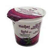 Meijer Blackberry Blended Nonfat Yogurt