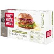 Shady Brook Farms Ready to Season Turkey Burgers