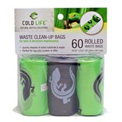 Cold Life Waste Clean-Up Bags For Tank & Terrarium Maintenance