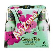 Arizona Green Tea with Ginseng and Honey - 6 PK