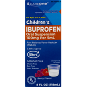 CareOne Children's Ibuprofen Berry Flavor