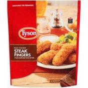 Tyson Fully Cooked Breaded Steak Fingers, Frozen