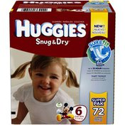Huggies Snug & Dry Snug & Dry Sure Fit Size 6 Diapers