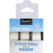 Essential Everyday Tape, Invisible, Matte Finish, 3 Pack Value