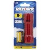 Rayovac Flashlight, 9 LED