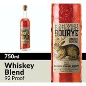 High West Bourye Whiskey