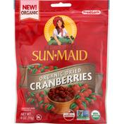Sun-Maid Cranberries, Organic, Dried