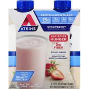 Atkins Protein-Rich Shake, Strawberry