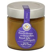 Apitherapy Honey, Orange Blossom, with Beepollen, Royal Jelly and Propolis