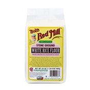 Bob's Red Mill Flour, White Rice, Stone Ground, Organic, Bag