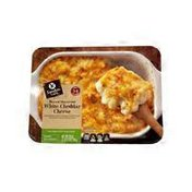 Signature Cafe Baked Macaroni With White Cheddar & Cream Cheese Topped With Toasted Breadcrumbs