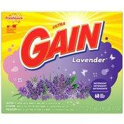 Gain Ultra Lavender with FreshLock Powder Detergent Laundry Detergent