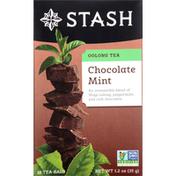 Stash Tea Oolong Tea, Chocolate Mint, Bags