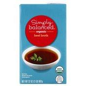 Simply Balanced Simply Balanced Organic Beef Broth