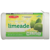 Our Family Frozen Concentrated Limeade With Real Lime Juice