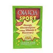 Ola Loa Sport Energy Electrolytes Vitamin Powder Lemon Lime Flavor Single Pack