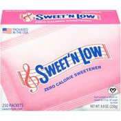 Sweet 'N Low Zero Calorie Sweetener
