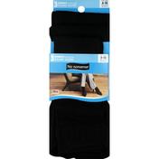 No nonsense Trouser Socks, Comfort Top, Women's, Shoe Sizes 4-10, Black