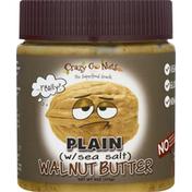 Crazy Go Nuts Walnut Butter, Plain, with Sea Salt