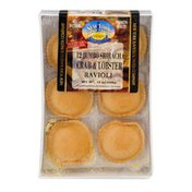 New York Ravioli & Pasta Company Jumbo Square Ravioli Crab & Lobster - 12 CT