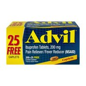 Advil Pain Reliever/Fever Reducer Coated Caplets - 225 CT