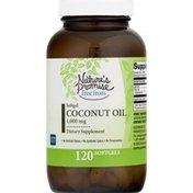 Nature's Promise Coconut Oil, Gluten Free, 1,000 mg, Softgel