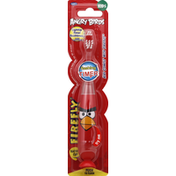 Firefly Toothbrush, Light Up Timer, Kids, Angry Birds, Soft