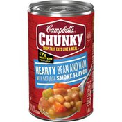 Campbell's® Chunky® Hearty Bean and Ham with Natural Smoke FlavorSoup