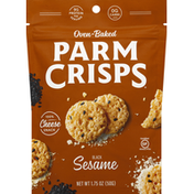 ParmCrisps Cheese Snack, Sesame, Oven-Baked
