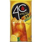 4C Foods Iced Tea Mix, Natural Lemon Flavor