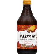 Humm Kombucha, Probiotic, Mango Passion Fruit