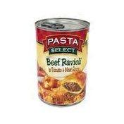 Pasta Select Beef Ravioli In Tomato & Meat Sauce