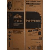 Elmer's Display Board, Tri-Fold, White