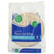 Food Club Flour Fajita Style Tortillas