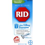 Rid Step 1 Lice Killing Shampoo