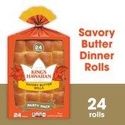 King's Hawaiian Savory Butter Rolls 24PK