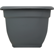 Bloem Planter, Ariana Charcoal, 8 Inches