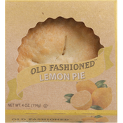 """Table Talk Old Fashioned Baked Lemon Pie 4"""""""