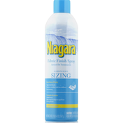 Niagara Fabric Finish Spray, Sizing