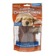 DreamBone DreamFillets Dog Treats Sweet Potatoes & Real Chicken - 10 CT
