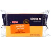 Hy-Vee Medium Cheddar Cheese
