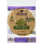 Mi Rancho Tortillas, Organic, Corn, Thin